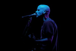 Moby performing live