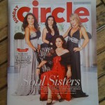 Circle cover shoot for GUESS
