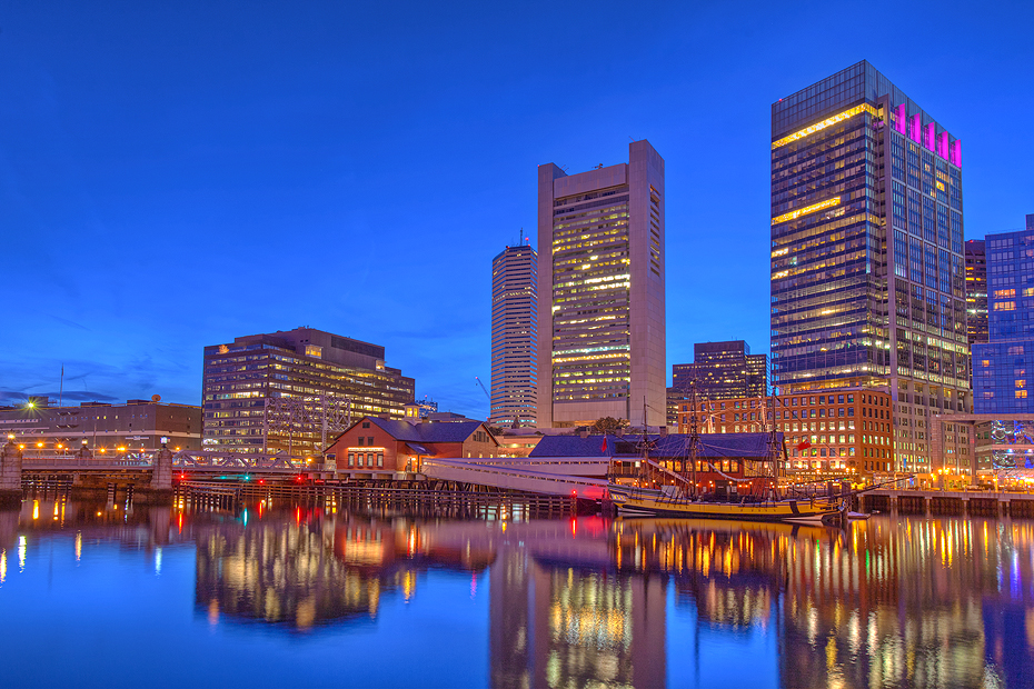 Boston as seen by Allen Venables