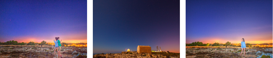 Dingli cliffs, Malta by night