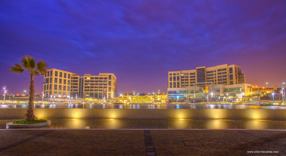 Smart City Malta sunrise