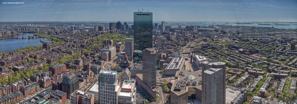 Boston cityscape daylight