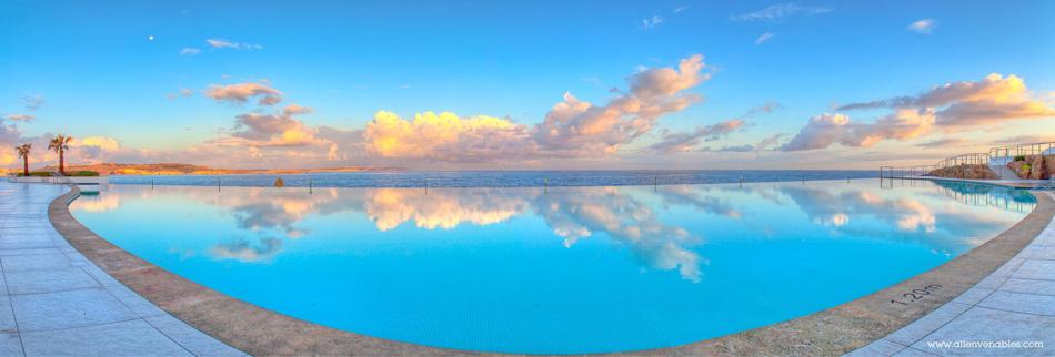 Pool panorama photo