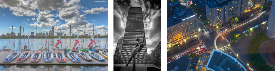 Boston city USA