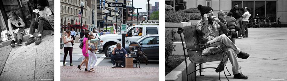 Boston homeless people