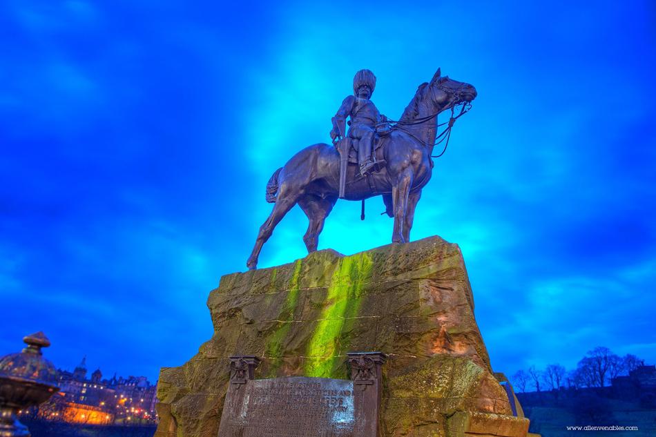 Only the brave… Edinburgh