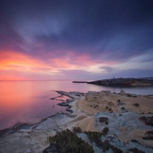Allen Venables Selmun Seascape