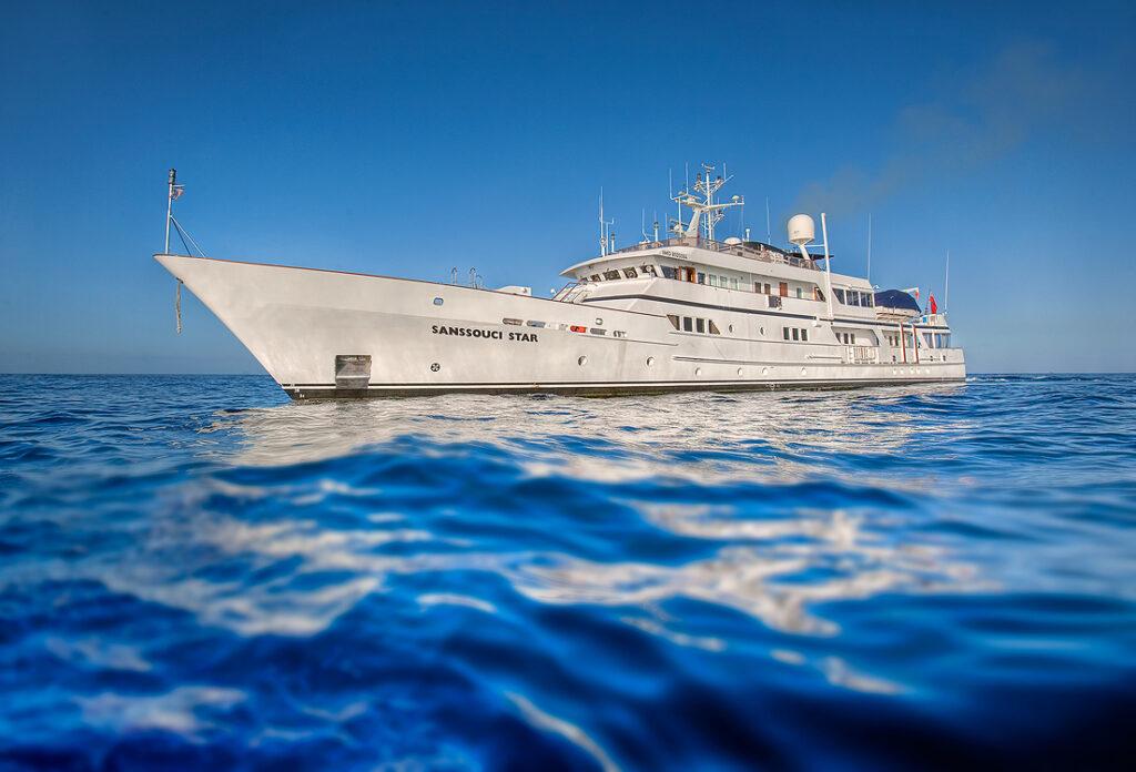 Sanssouci Star Yacht Photography